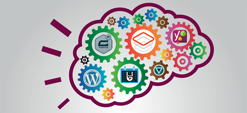 Top 5 Wordpress Plugins infographic